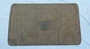 NICE OEM GM Cadillac Trunk Mat Cargo Carpet w Rubber Logo Ornament Emblem Liner