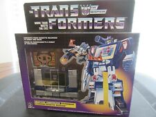 Transformers Reissue 1980s Soundwave And Buzzsaw MIB
