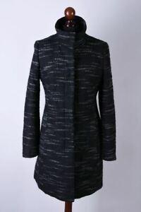 Ladies Hugo Boss Classic Long Coat / Jacket Size S / UK8