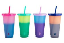 Tal 4 Pack 24 oz Solid Color Changing Tumblers Plain (Free Shipping)