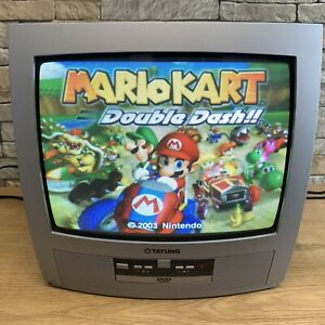 """TATUNG T14DT91S Small TV 14"""" Retro Portable CRT Colour Television  (DVD FAULTY)"""