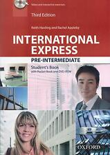 Oxford International Express 3rd Ed Pre-Intermedio estudiantes Libro W DVD-ROM NUEVO