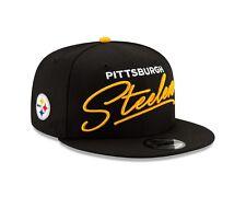 Pittsburgh Steelers SCRIPT TURN Snapback 9Fifty New Era NFL Hat