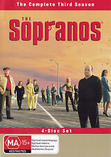 THE SOPRANOS Season 3 DVD R4  PAL - New