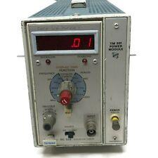 Tektronix TM 501 Power Module w/ PG504 Counter/Timer