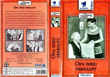 VHS -- Ohnsorg THEATER - Opa wird verkauft -- Henry Vahl