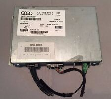 AUDI SIRIUS SAT Radio Receiver Tuner Module OEM 4E0035593F J3N314