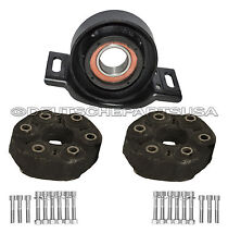 MERCEDES R170 W203 W208 DRIVESHAFT FLEX DISC COUPLING JOINT BEARING MOUNT KIT 3