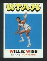 1971-72 Topps #194 Willie Wise NM/NM+ RC Rookie 127166