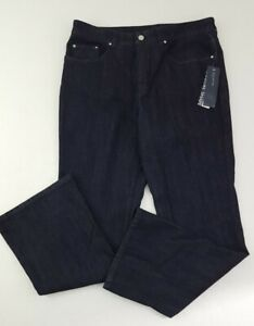 Women's JONES NEW YORK Signature Shape Stretch Bootcut Denim Jeans SIZE 14 NWT