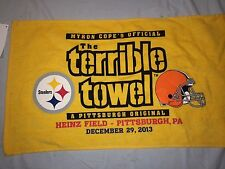 Pittsburgh Steelers vs Cleveland Browns Terrible Towel  New