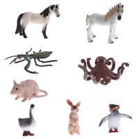 Simulation Wildlife/Zoo/Farm Animal Model Figures Children Toys Collectibles