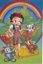 "BETTY BOOP CARTOON ON POSTCARD ""IN THE LAND OF OZ AS DOROTHY"" (BB27*)"