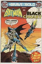 Brave and Bold #107 July 1973 Vf/Nm Black Canary