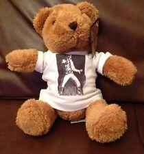 ELVIS PRESLEY 8 inch VERY CUDDLY TEDDY BEAR b/w