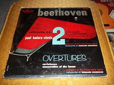 Beethoven Concerto No 2 Paul Badura - Skoda ~ Hermann Scherchen Westminster LP