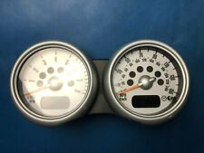 BMW Mini One/Cooper/S Dual Speedometer/Rev Counter Cluster (Part #: 62116936298)
