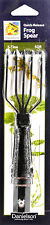 Danielson 5 tine 5 1/2 in quick release tempered frog spear gig hunting fish 5QR