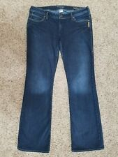 SILVER Kyle Bootcut womens jeans - size 32 --- 32 x 33 - GREAT condition