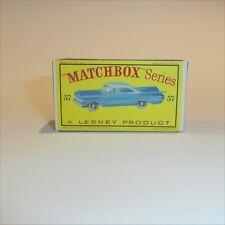 Matchbox Lesney 57 b Chevrolet Impala empty Repro D style Box