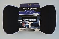 Black Samsonite Neck Support Cushion Pillow | High-Grade Memory Foam
