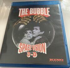 The Bubble (1966) Bluray 3-D Kino Lorber Retro Sci-Fi Movie Rare