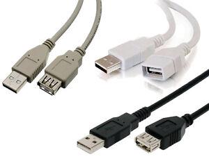 CABLE ALARGADOR USB 2.0 A macho - A hembra - 0.75 1 1.8 2 3 5 metros - EXTENSION