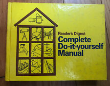 Vintage Readers Digest Complete Do-It-Yourself Manual 1973 Hardcover Home Repair