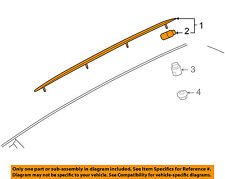 AUDI OEM A6 Quattro Roof Rack Rail Luggage Carrier-Roof Rail Left 4F9860021N2ZZ