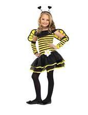 New Totally Ghoul Honey Bee Dress up Costume Sz Medium 6 black/yellow
