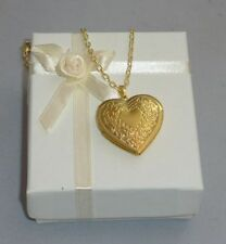 Love Heart Locket Costume Necklaces & Pendants