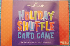 Holiday Shuffle 2004 Card Game Hallmark New Sealed in Plastic Free Shipping