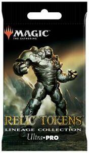 MTG Relic Token LIneage token factory sealed