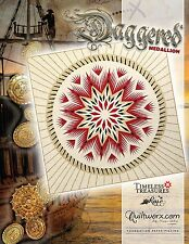 Daggered Medalion Paper Pieced Judy Niemeyer Quilt Pattern New for 2017