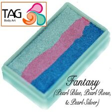 Tag BODY ART ONE STROKE Professional Face Paint Cake (30g) ~ FANTASY