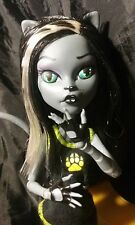 OOAK Monster High Purrsephone Collector Doll Repaint by J.S.A.L. ☆ WITH SCOOTER