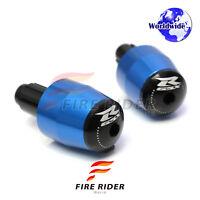 Blue GSXR CNC Bar Ends For Suzuki GSX-R 600 92-14 GSXR750 GSX-R1000 01-12 10
