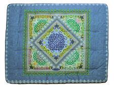 Scaldotto plaid coperta divano Caleffi cm 130x170 Key azzurro bluette