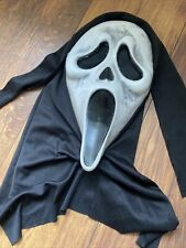 New listing Ghost Face Fun World Easter Unlimited SCREAM Mask Lighted Style NEEDS REPAIR
