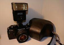 PRAKTICA B100 35mm SLR with PB 50mm f1.8 LENS & BC2400 FLASH, FULL WORKING ORDER