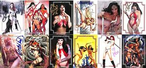 Cosplay Woman of Dynamite Trading Cards Master Set of 44 cards