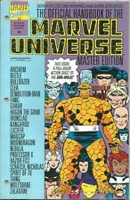 OFFICIAL HANDBOOK OF THE MARVEL UNIVERSE MASTER EDITION #18 / 1992 / N/M