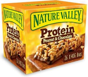 Nature Valley Protein Bars Peanut/Chocolate 10/26/39 x 40g best-before 11/20
