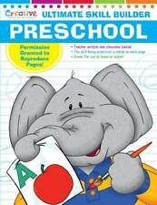 NEW 320pg Ultimate Skill Builder - Preschool - Workbook Educational Learning