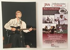 Carl Perkins Signed Autographed 3.5 x 5 Photo JSA Certified