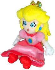 "Nintendo Super Mario Bros. Princess Peach Plush Doll Stuffed Animal Toy 7"""