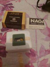 Original Nagaoka JT411 Turntable Cartridge +  Stylus new old stock