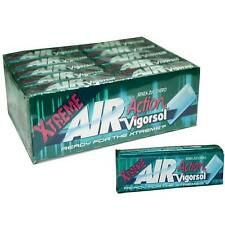 10 BL. GOMME MASTICARE VIGORSOL AIR ACTION XTREME STRONG MINT CHEWING GUM VERDE