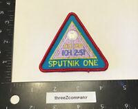 Vtg Sputnik One 1 CCCP 10-12-57 Space Patch