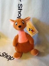 "WALT DISNEY WORLD WINNIE THE POOH CUTEST SOFT KANGA BEAN BAG PLUSH TOY 7""NWT"